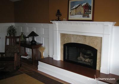 Palmer-Woodwork-fireplace